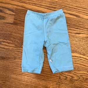 EUC Baby Soy Blue Pants; 0-3M